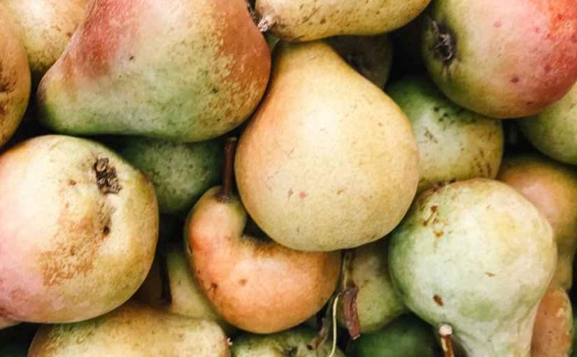 Dieses angeschlagene Obst schmecktgut